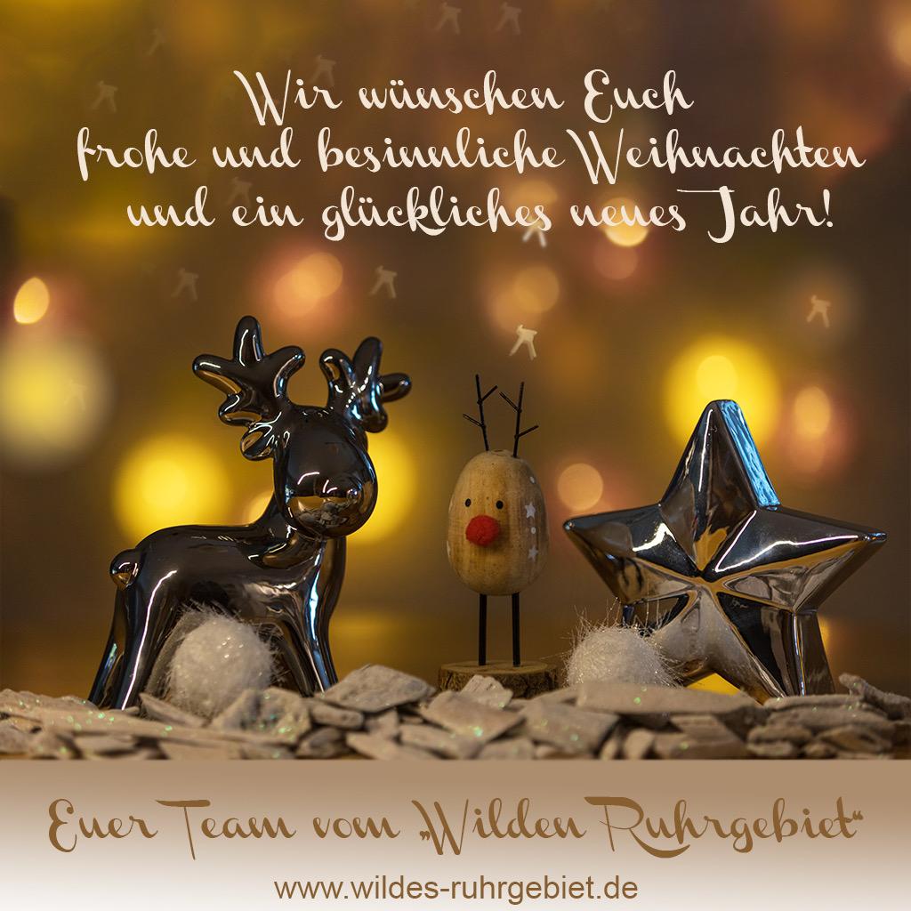 Grußkarte zu Weihnachten von Sabine Fabritz